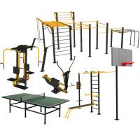 Вуличні тренажери та гімнастичні комплекси