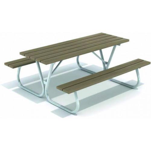 Лавка зі столиком Л 008