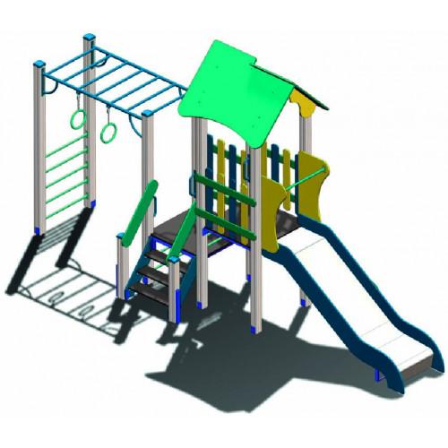 Дитячий комплекс  DKA-010 серії «Альпініст»