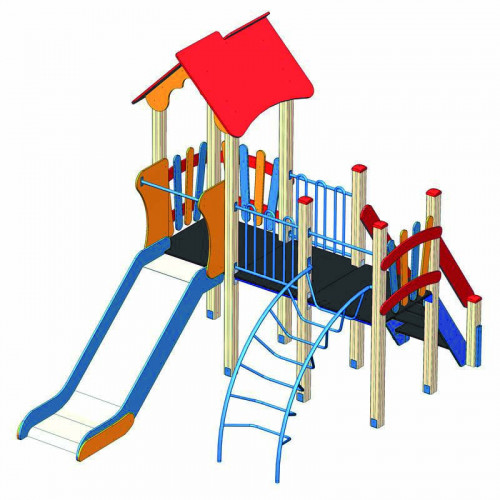 Дитячий комплекс  DKA-018 серії «Альпініст»