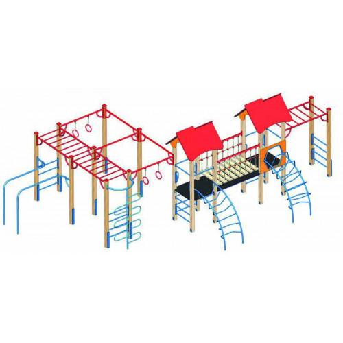 Дитячий комплекс  DKA-024 серії «Альпініст»