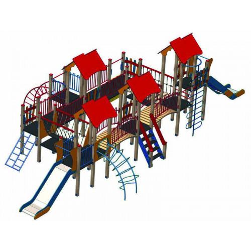 Дитячий комплекс  DKA-028 серії «Альпініст»