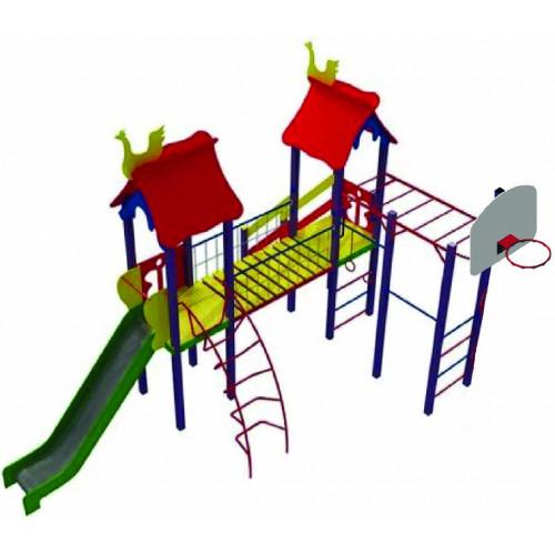 Дитячий комплекс серії DKX-004 «Хуторок»