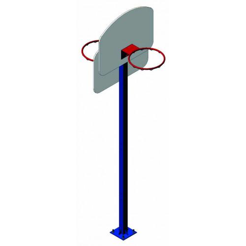 Стійка для стрітболу подвійна СС 004